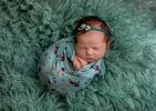 Floral Photography Backdrop | Newborn Baby Posing Ltd